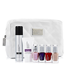 Leighton Denny 6 Piece Nail Set with Cosmetic Bag