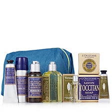 227591 - L'Occitane 8 Piece Men's Travel Collection with Bag