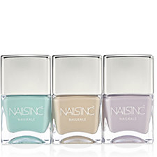 Nails Inc 3 Piece Pastel Power Nailcare Collection