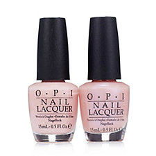 OPI 2 Piece Rosy Future & Sweet Memories Wedding Collection
