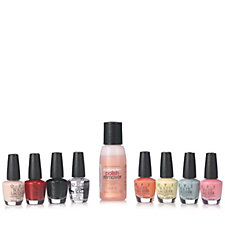 OPI 8 Piece Mini Madness Nail Collection with Remover & File