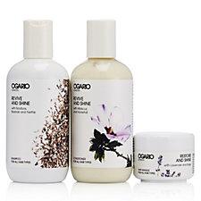 Ogario 3 Piece Shampoo Conditioner & Masque Set