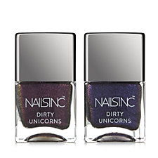 Nails Inc 2 Piece Dirty Unicorn Collection