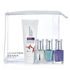 Leighton Denny 4 Piece Crush Nailcare Collection & Bag