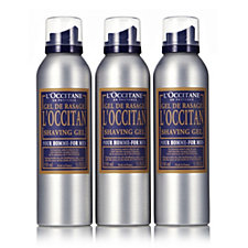 L'Occitane Shave Gel Trio