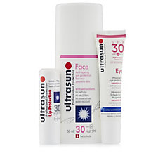 Ultrasun 3 Piece Complete Face Suncare Collection