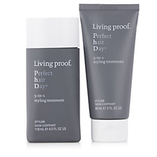 236494 - Living Proof PhD 5-In-1 Styling Treatment Home & Away Duo