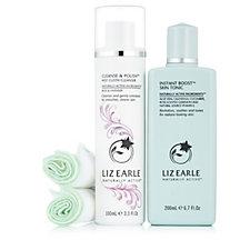 Liz Earle Cleanse & Polish & Skin Tonic Botanical Beauty Soothers