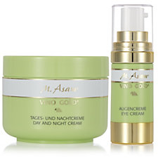 M. Asam Vino Gold 2 Piece Skincare Collection