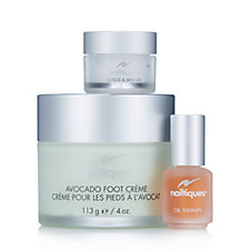 Nailtiques 3 Piece Foot Care Collection