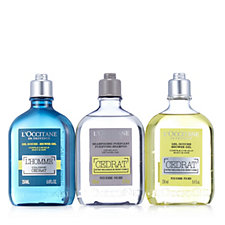 L'Occitane 3 Piece Shower Gel & Shampoo Collection