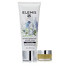 Elemis British Botanicals Shower Cream 200ml & Cleansing Balm 20g