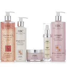 SBC 5 Piece Collagen Skincare Collection