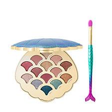 Tarte Be a Mermaid & Make Waves Eyeshadow Palette & Brush