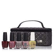 OPI 5 Piece Envy This Collection Nailcare Set & Vanity Bag