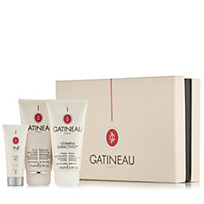 Gatineau Breast Cancer Care 3 Piece Skincare Treats Collection