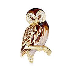 Bill Skinner Owl Brooch