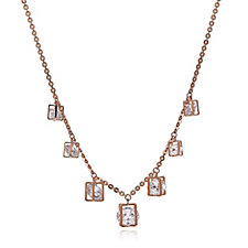 Frank Usher Encased Crystal Charm Necklace