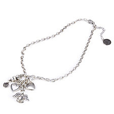 Bibi Bijoux Multi Charm 45cm Chain Necklace