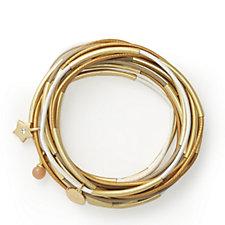 Sence Copenhagen Multi Set of 15 Leather Stacking Bracelets