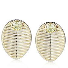 Princess Grace Collection Grain de Cafe Wedding Gift Earrings
