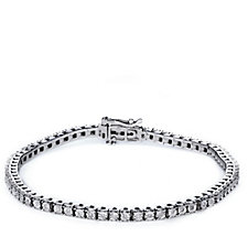 0.2ct Diamond Tennis Bracelet 9ct Gold