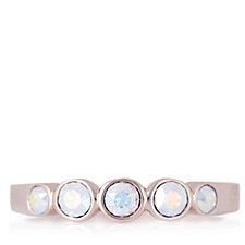 Aurora Swarovski Crystal Five Stone Ring