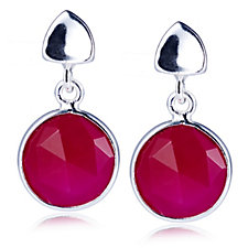 306002 - Azuni London Semi Precious Gemstone Drop Earrings
