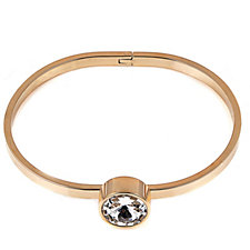 Frank Usher Hinged Crystal Bangle