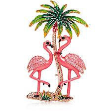 331302 - Butler & Wilson Flamingo Brooch
