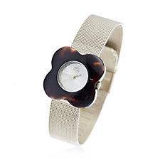 Orla Kiely Ladies Watch Poppy Stainless Steel Mesh Strap