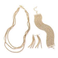 Buckley London Cascade 42cm Necklace, Bracelet and Earrings Set