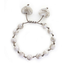 Lola Rose Effie Faceted Heart Chinese Knot Bracelet