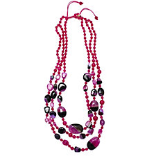 Lola Rose Zanzibar Semi Precious Layered Necklace