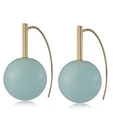 Pilgrim Semi Precious Stone Ball Earrings