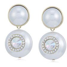 331305 - Butler & Wilson Simulated Pearl Drop Earrings