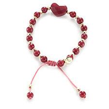 Lola Rose Larah Semi Precious Bead & Heart Bracelet