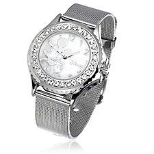316306 - Disney Classic Silver Dial Mesh Strap Watch