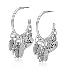Bibi Bijoux Hoop Charm Earrings
