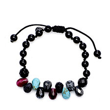 Lola Rose Lorenza Semi Precious Adjustable Bracelet