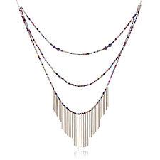 Lola Rose Pembridge Semi Precious Layered 74cm Necklace