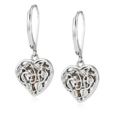 Clogau 9ct Gold Sterling Silver Fairy Earrings