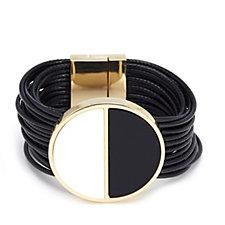 Frank Usher Enamel Disc Bracelet