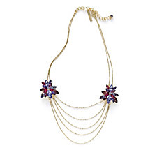 JM by Julien Macdonald Catwalk Collection Marquise Crystal 51cm Necklace