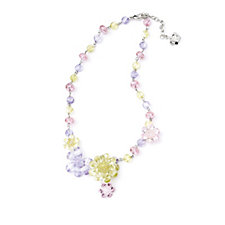 Butler & Wilson Multi Colour Crystal Bead 45cm Necklace with 5cm Extender