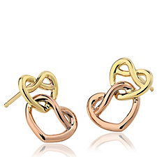 309509 - Clogau 9ct Gold David Emanuel Love Knot Earrings