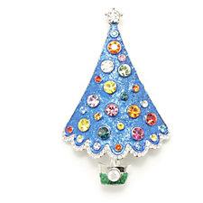 319309 - Butler & Wilson Christmas Tree Brooch