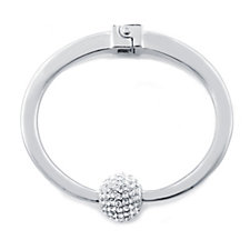 Loverocks Crystal Ball Bangle