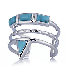 Turquoise Inca Ring Sterling Silver