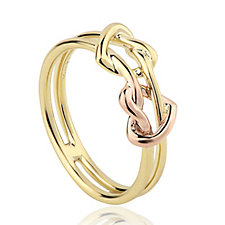 309510 - Clogau 9ct Gold David Emanuel Love Knot Ring